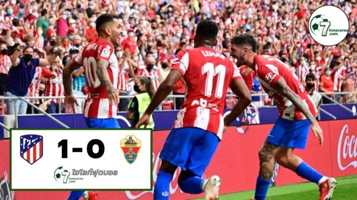 Highlight Spanish La Liga Atlético de Madrid - Elche CF 22-08-2021