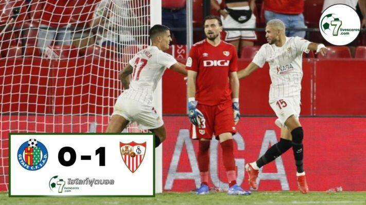 Highlight Spanish La Liga Getafe - Sevilla 23-08-2021