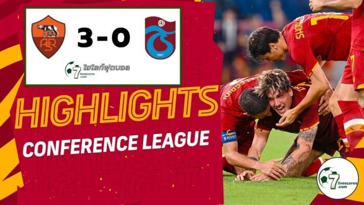 Highlight UEFA Europa Conference League Roma - Trabzonspor 19-08-2021