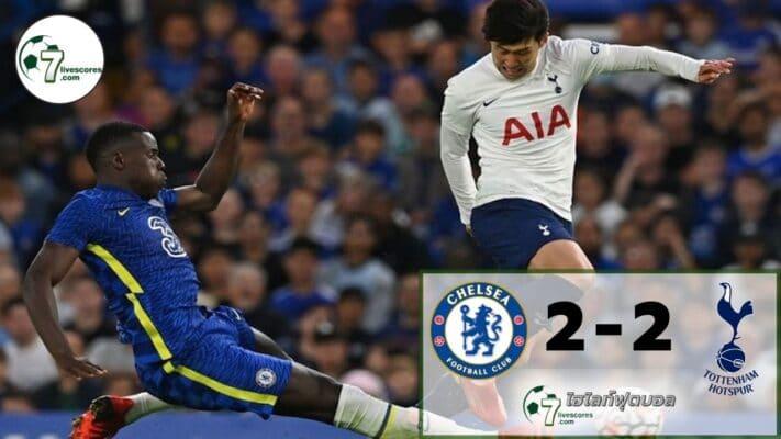 Highlight football Chelsea - Tottenham Hotspur 04-08-2021