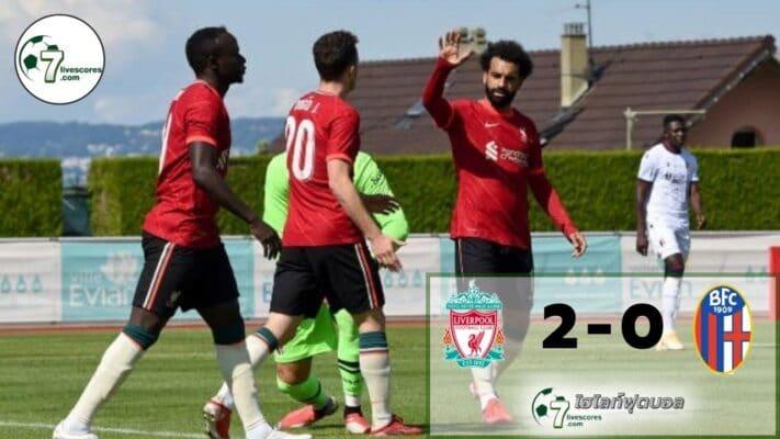 Highlight football Liverpool - Bolognar 05-08-2021