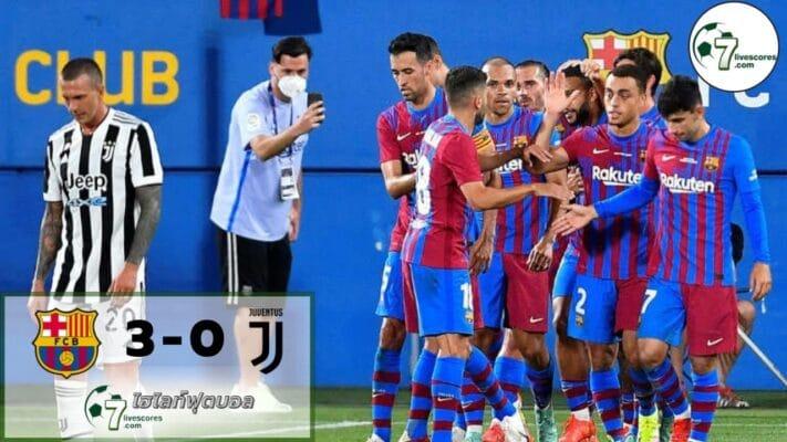 HighlightFootball Barcelona - Juventus 08-08-2021