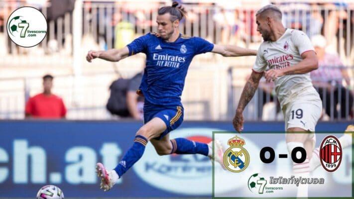 HighlightFootball Real Madrid - AC Milan 08-08-2021