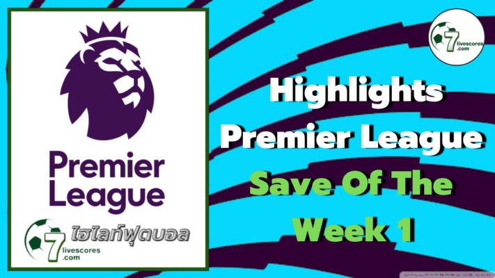 Highlights Premier League Save Of The Week 1
