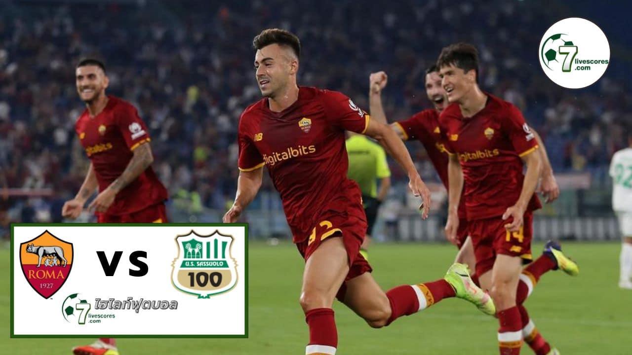 Highlight Italian Serie A Roma - Sassuolo 12-09-2021