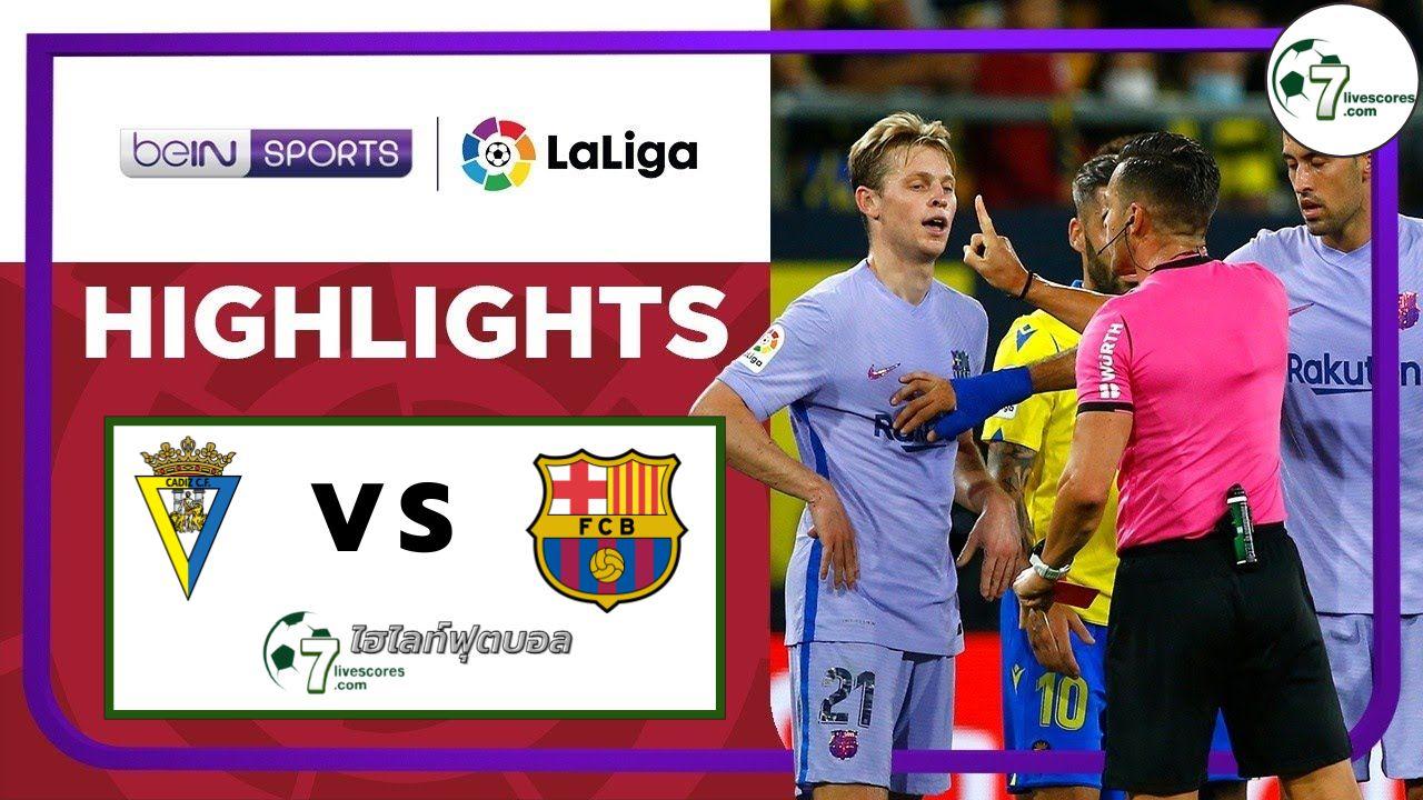Highlight Spanish La Liga Cadiz - Barcelona 23-09-2021