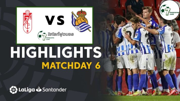 Highlight Spanish La Liga Granada CF - Real Sociedad 23-09-2021