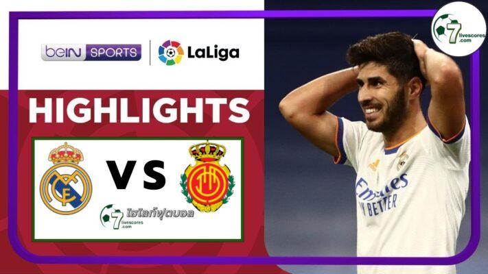 Highlight Spanish La Liga Real Madrid - Mallorca 22-09-2021