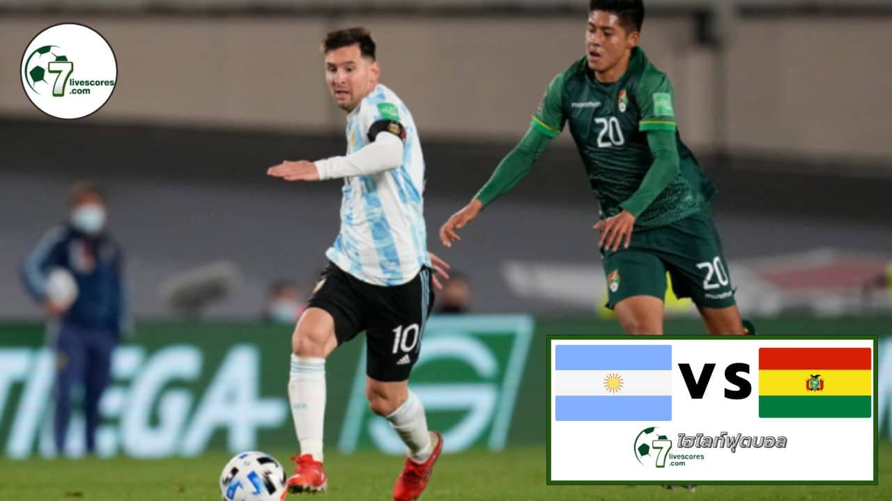 Highlight World Cup South America Zone Argentina - Bolivia 09-09-2021