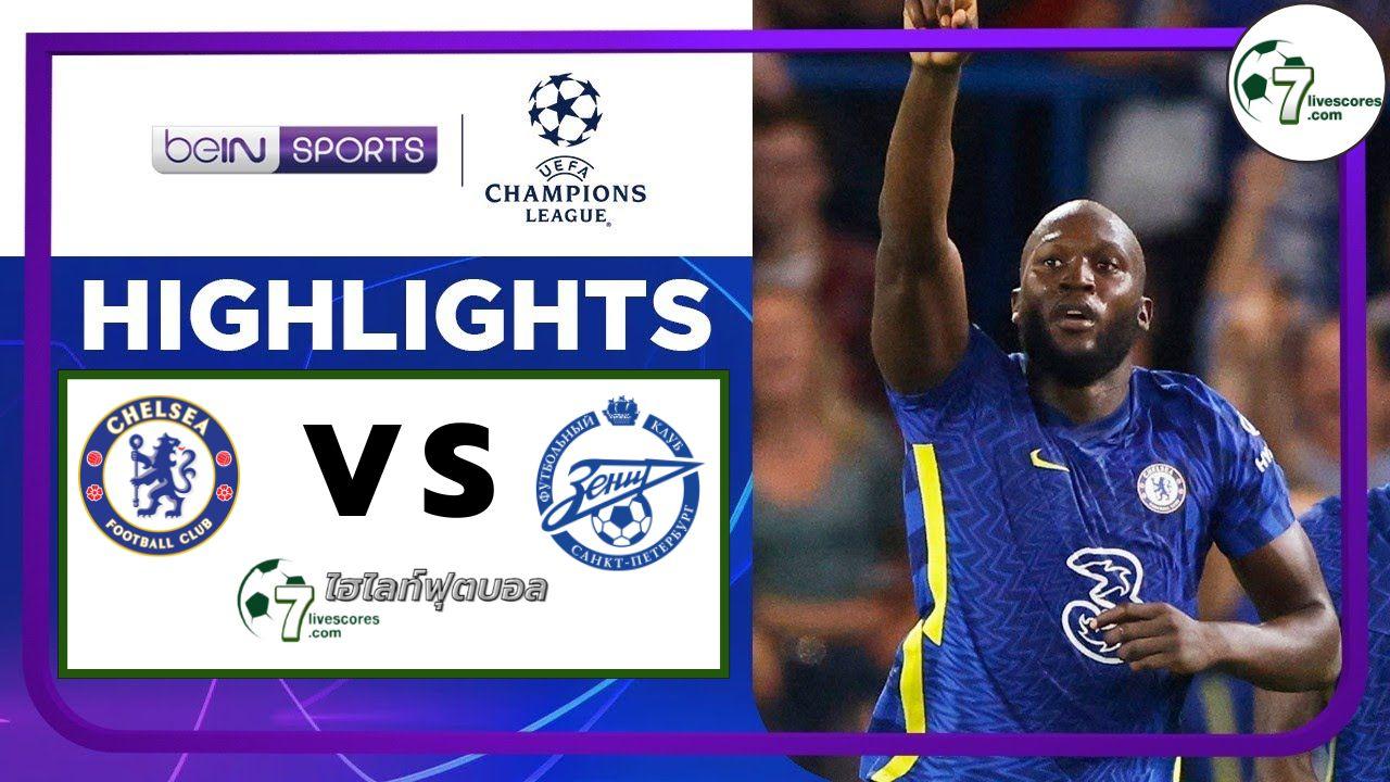 Highlights Champions League Chelsea - Zenit St Petersburg 14-09-2021