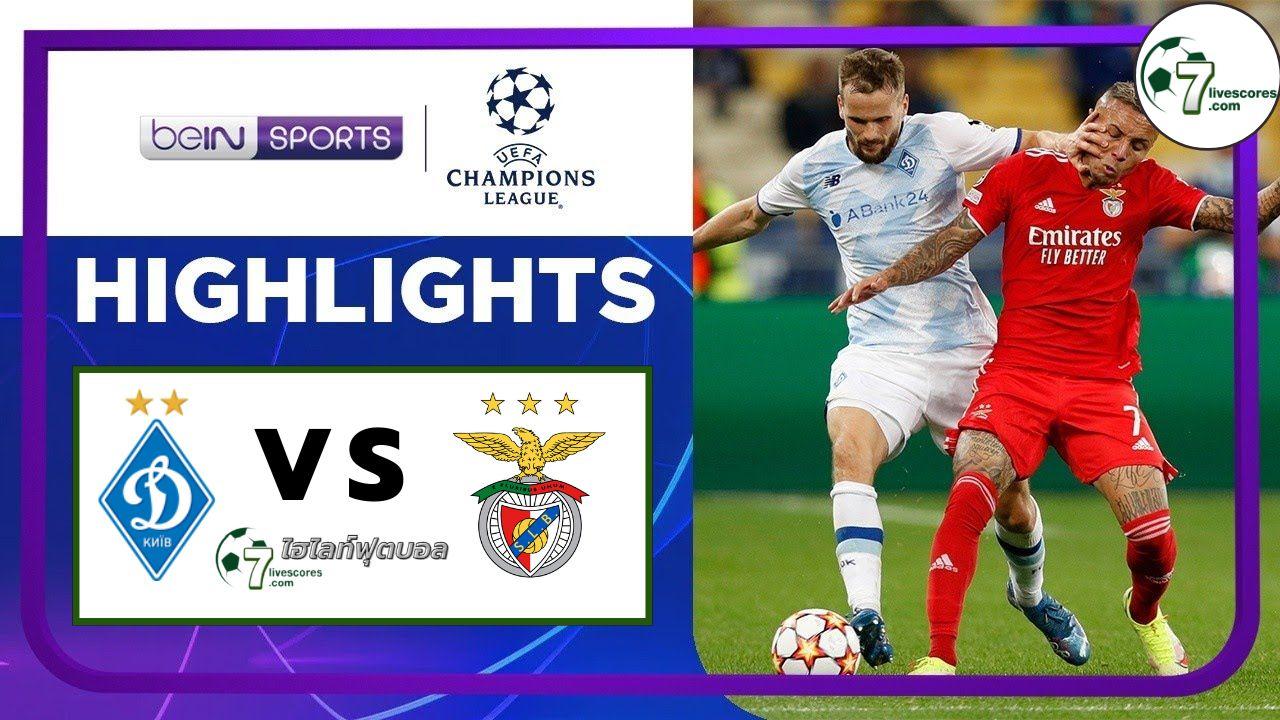Highlights Champions League Dynamo Kyiv- Benfica 14-09-2021