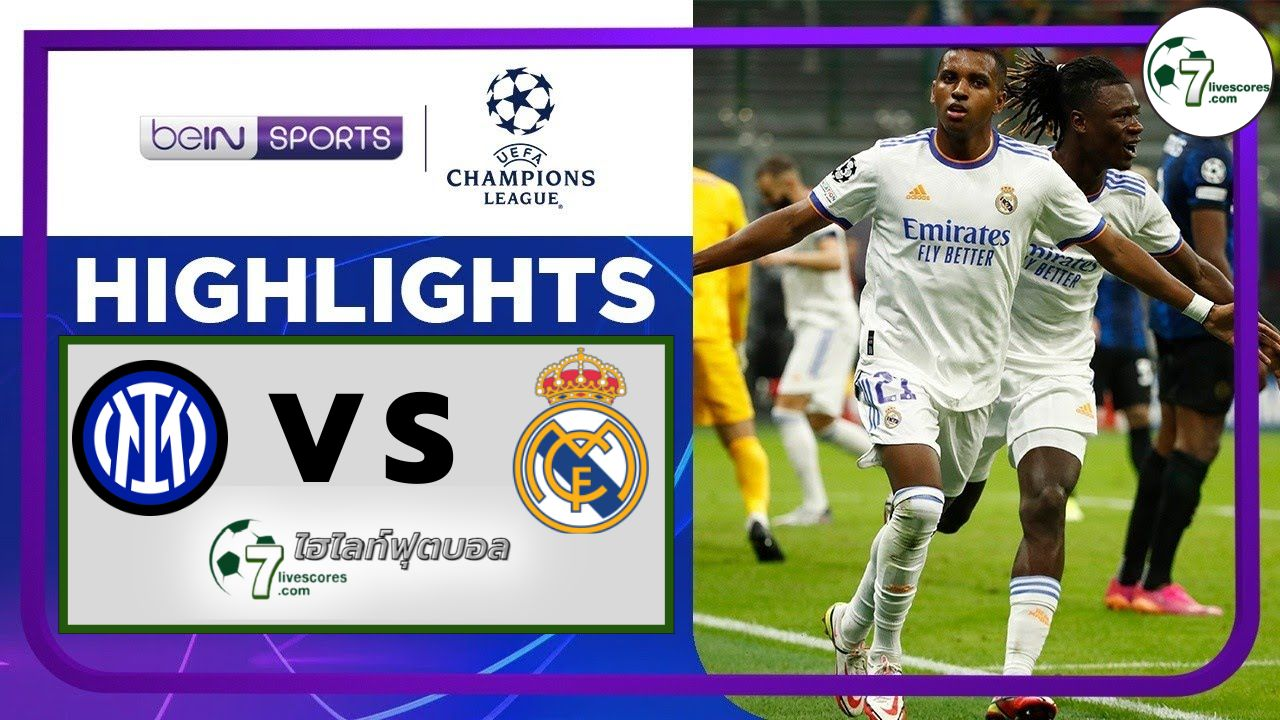 Highlights Champions League Inter - Real Madrid 15-09-2021