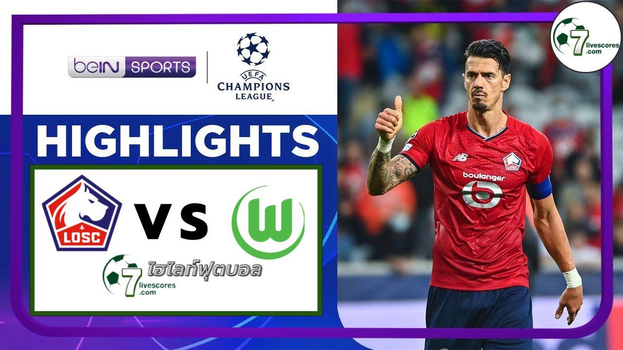 Highlights Champions League Lille - VfL Wolfsburg 14-09-2021