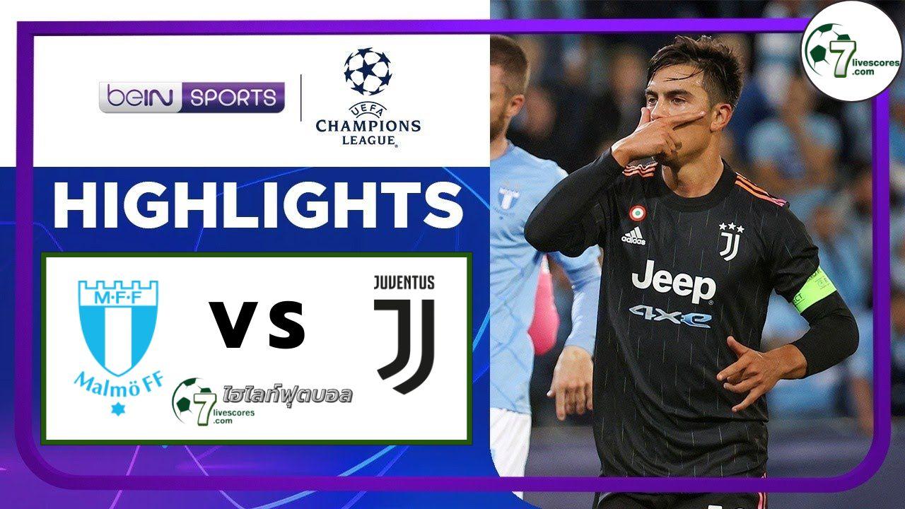 Highlights Champions League Malmö FF - Juventus 14-09-2021