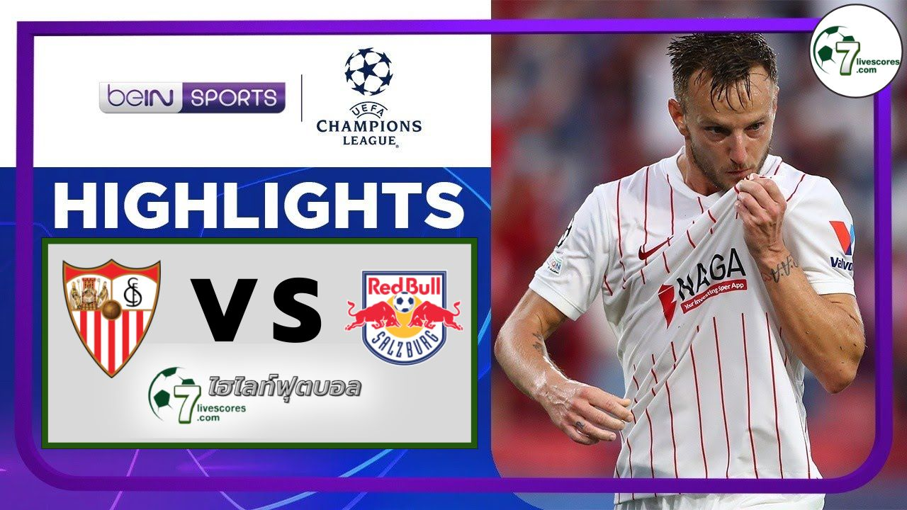 Highlights Champions League Sevilla - FC Red Bull Salzburg14-09-2021