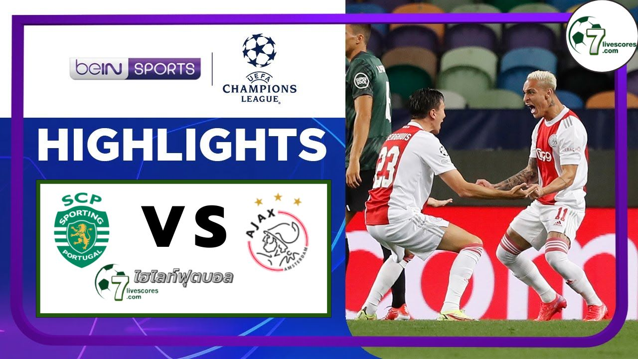 Highlights Champions League Sporting CP - Ajax 15-09-2021