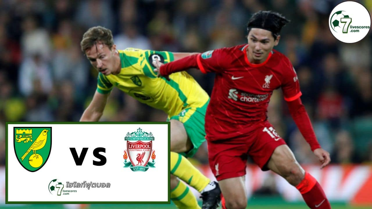 Highlights EFL CUP Norwich City - Liverpool 21-09-2021