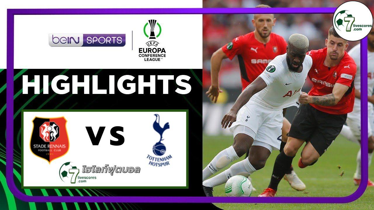 Highlights Europa Conference League Rennes - Tottenham Hotspu 16-09-2021