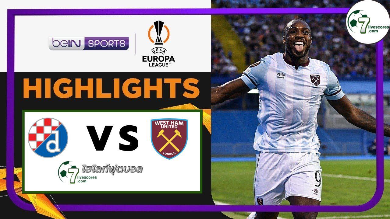 Highlights Europa League Dinamo Zagreb - West Ham 16-09-2021