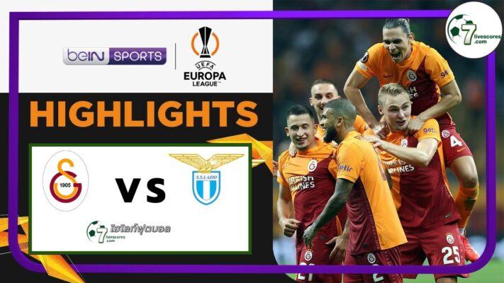 Highlights Europa League Galatasaray - Lazio 16-09-2021