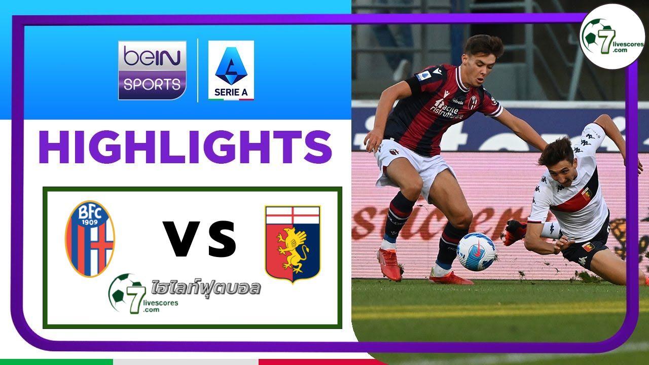Highlights Italian Serie A Bologna - Genoa 21-09-2021