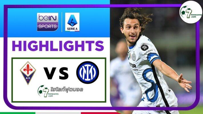 Highlights Italian Serie A Fiorentina - Inter 21-09-2021
