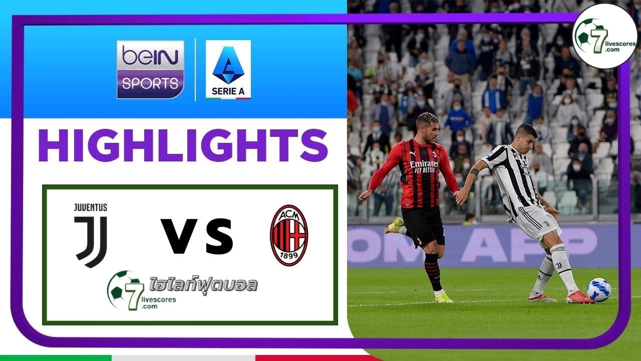 Highlights Italian Serie A Juventus - AC Milan 19-09-2021