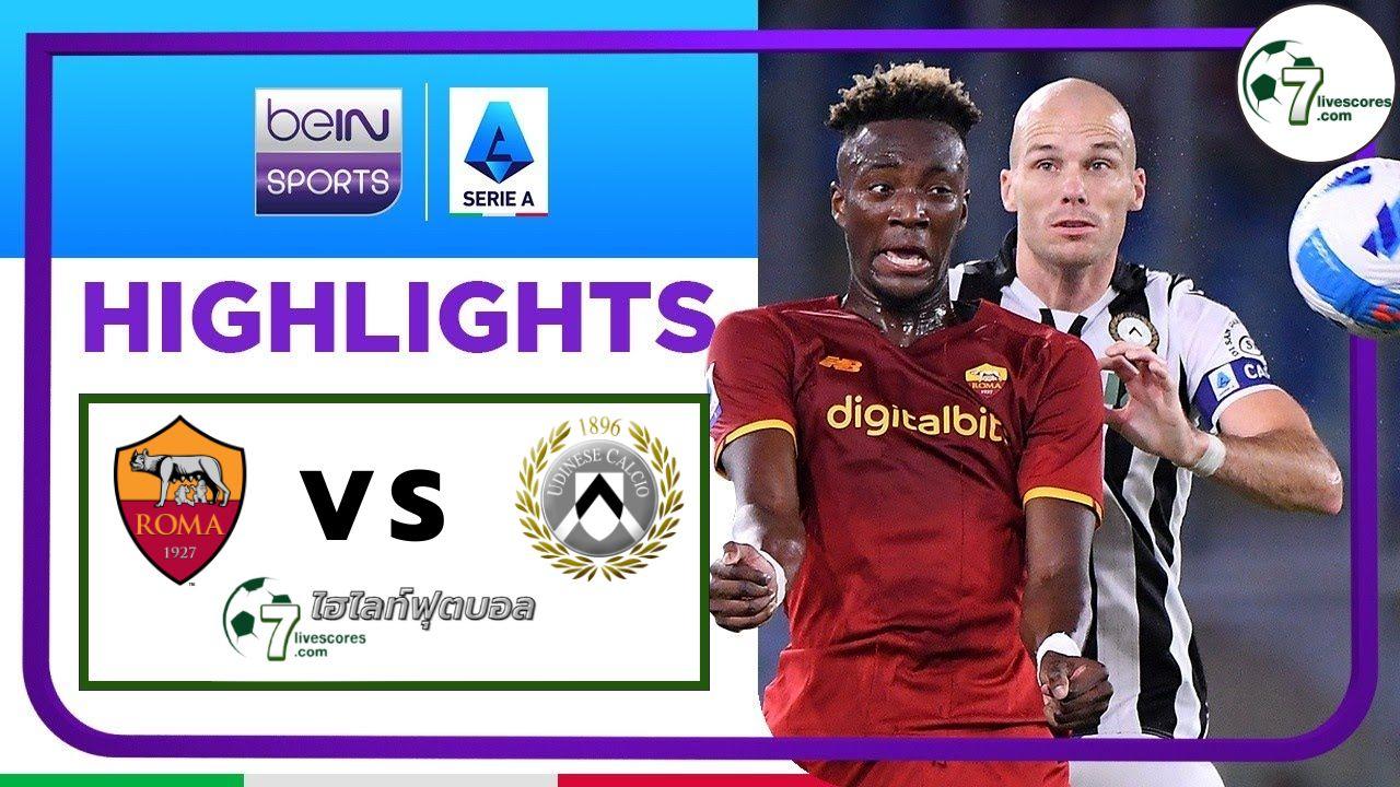 Highlights Italian Serie A Roma - Udinese 23-09-2021
