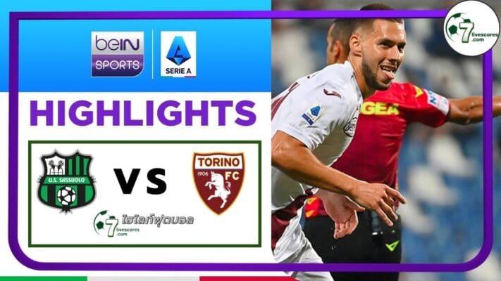 Highlights Italian Serie A Sassuolo - Torino 17-09-2021