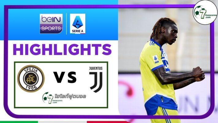 Highlights Italian Serie A Spezia - Juventus 22-09-2021