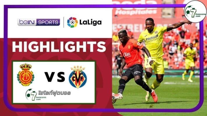 Highlights Spanish La Liga Mallorca - Villarreal 19-09-2021
