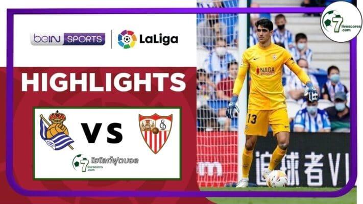 Highlights Spanish La Liga Real Sociedad - Sevilla 19-09-2021