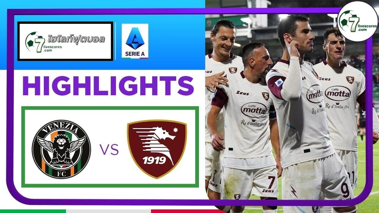 Highlight Italians Serie A Venezia - Salernitana 26-10-2021