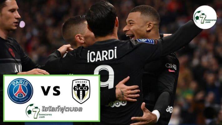 Highlight Ligue 1 Paris Saint-Germai - Angers SCO 15-10-2021
