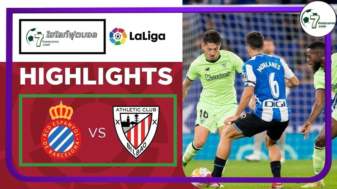 Highlight Spanish La Liga Espanyol - Athletic Club 26-10-2021