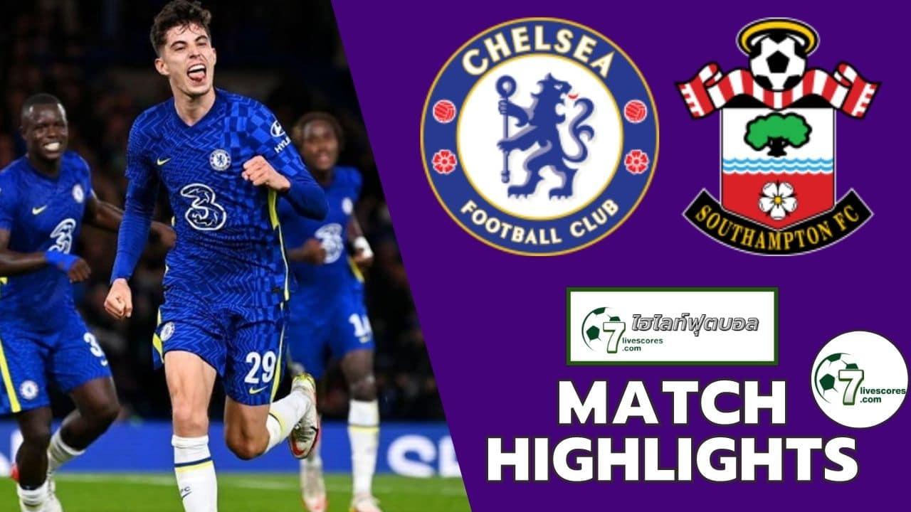 Highlights EFL Cup Chelsea - Southampton 26-10-2021