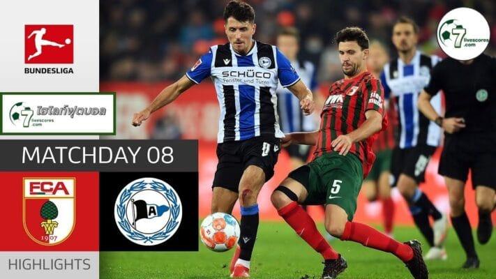 Highlights Germany Bundesliga FC Augsburg - Arminia Bielefeld 17-10-2021