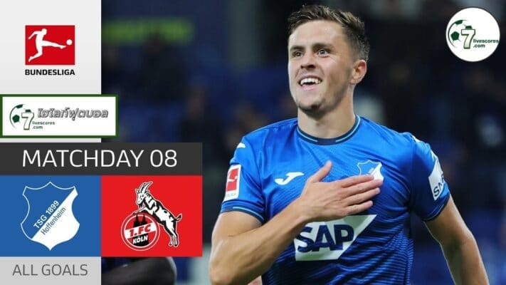 Highlights Germany Bundesliga TSG Hoffenheim - FC Köln 15-10-2021