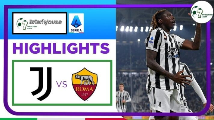 Highlights Italian Serie A Juventus - AS Roma 17-10-2021