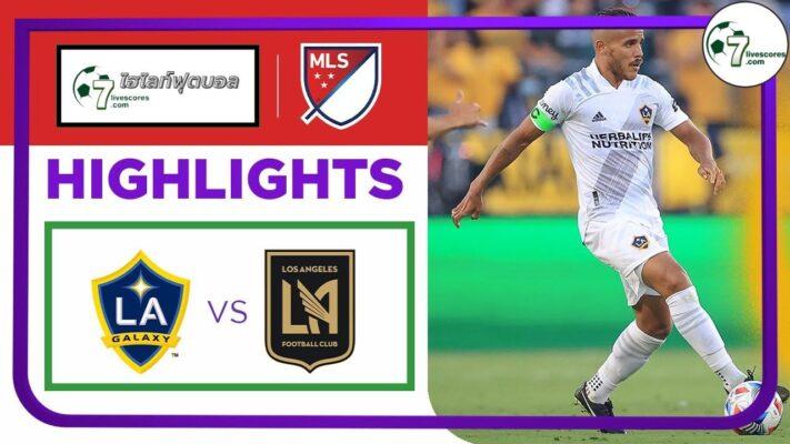 -Highlights Major League Soccer LA Galaxy - Los Angeles FC 04-10-2021