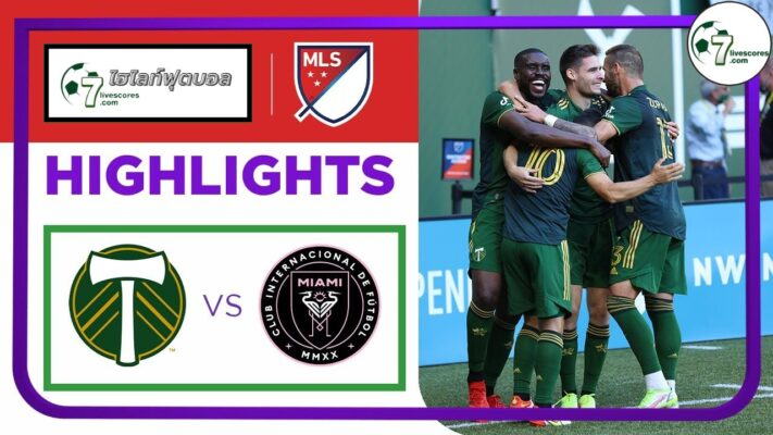 -Highlights Major League Soccer Portland Timbers - Inter Miami CF 04-10-2021