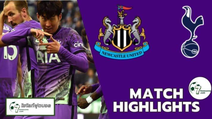Highlights Premier League Newcastle United Tottenham Hotspur 17-10-2021