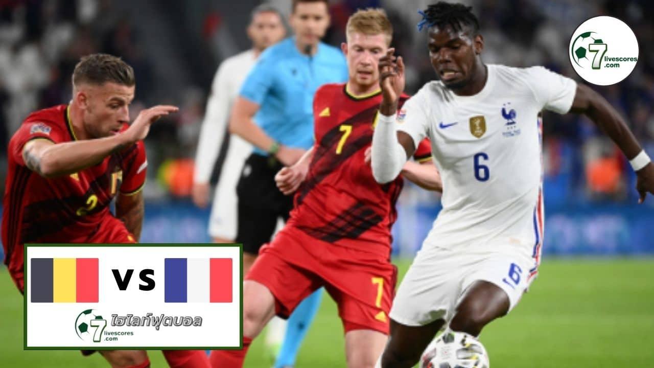 Highlights UEFA Nations League BeIgium - Francee 07-10-2021