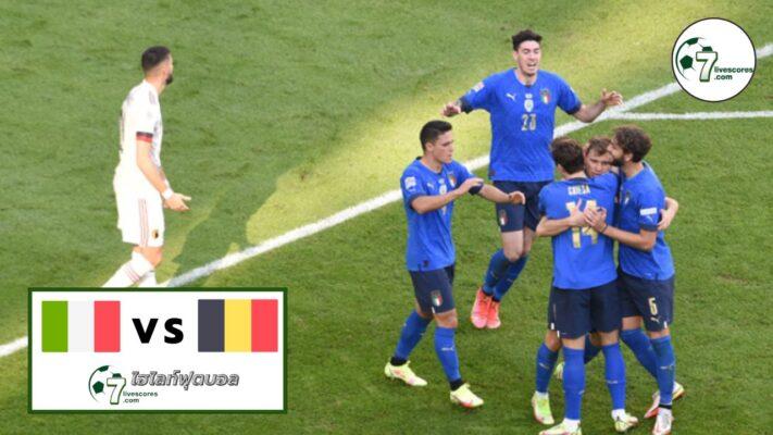 Highlights UEFA Nations League Italy - Belgium 10-10-2021