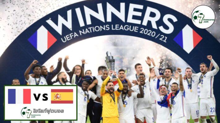 Highlights UEFA Nations League Spain - France 10-10-2021