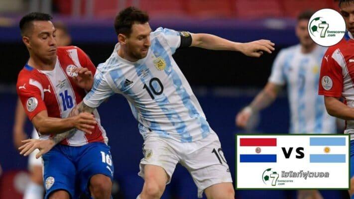 Highlights UEFA Nations Paraguay vs Argentina 07-10-2021