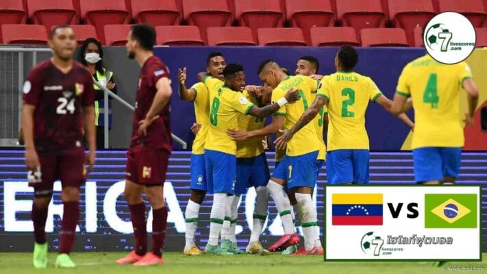 Highlights UEFA Nations Venezuela - Brazil 07-10-2021