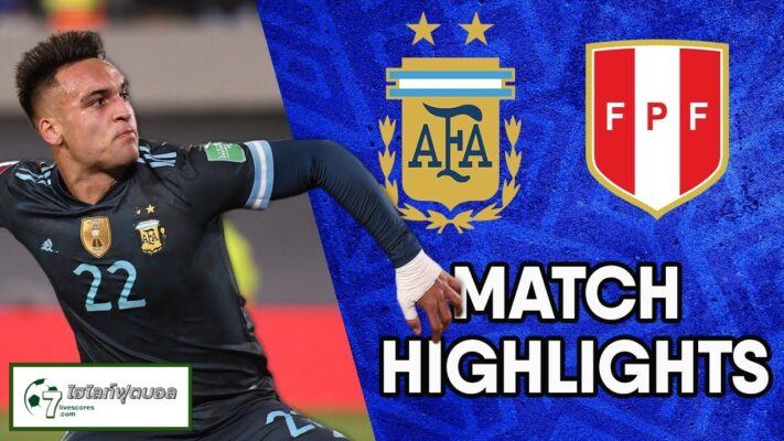 Highlights World Cup South America Zone ARGENTINA - PERÚ 14-10-2021
