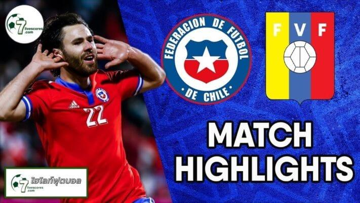 Highlights World Cup South America Zone Chile vs Venezuela 14-10-2021