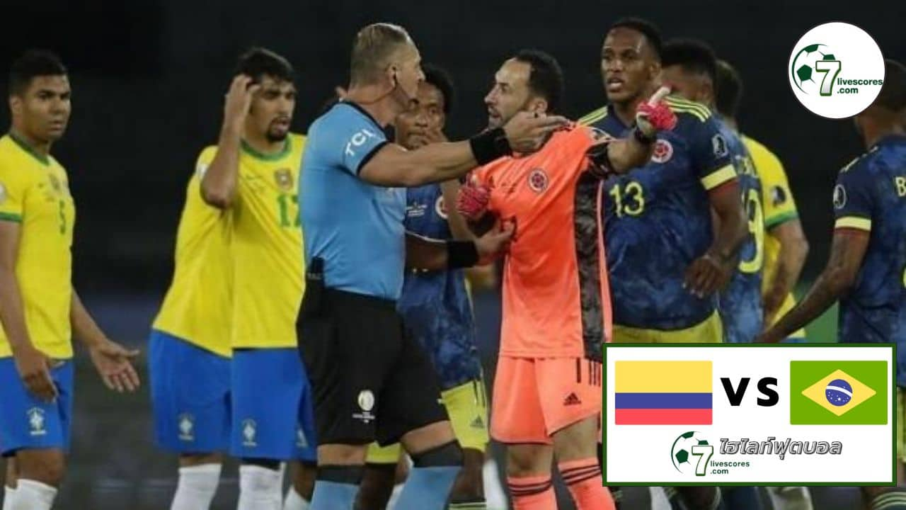 Highlights World Cup South America Zone Colombia - Brazil 10-10-2021